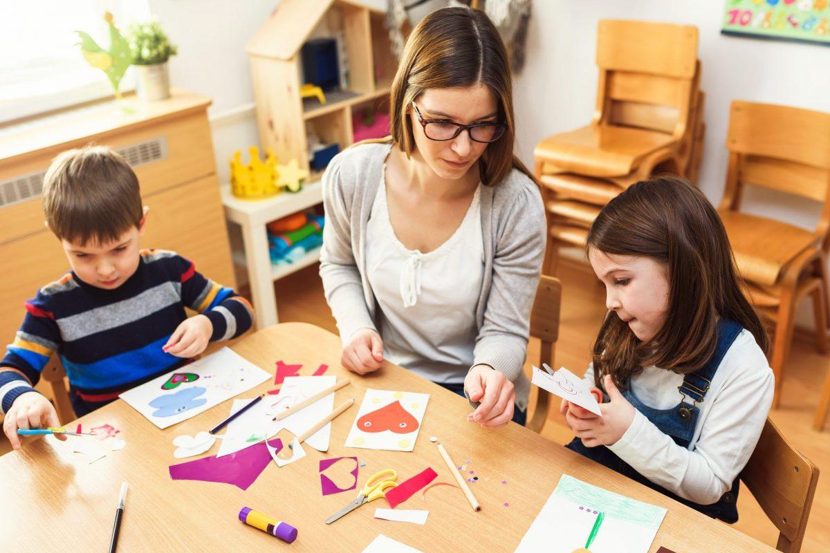 Kreativ leg I børnehave